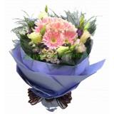ACC001 - 粉色太陽花花束