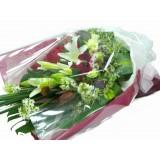 ALL016 : 靈感 - 白百合,紅玫瑰花束