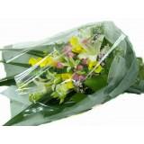 ALL004 : 簡單的你 - 白百合,馬蹄蘭花束