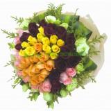 ARS058 : 無限的愛 - 4色玫瑰花束