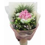 ARS003 : 甜心 - 粉玫瑰花束18支裝
