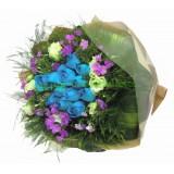 ARS005 : 藍寶石 -18支 藍玫瑰花束