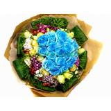 ARS030 : 讓人心動 -  藍玫瑰花束