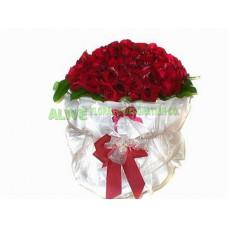 ARS034 - 紅玫瑰花束