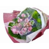 ARS041 - 粉玫瑰花束