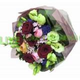 ARS051 - (情人節精選08/02-16/02) 我温柔的愛  - 6支紅玫瑰連襯花花束