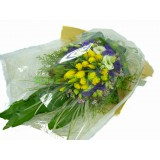 ATL002b - 20支 黃色屈甘香花束