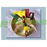 ACR004 - 馬蹄蘭襟花 (10 個)