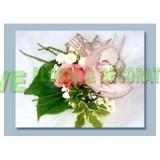 ACR005 - 蕙蘭玫瑰襟花 (10 個)